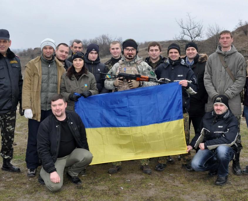 Самооборона Майдану Запоріжжя.